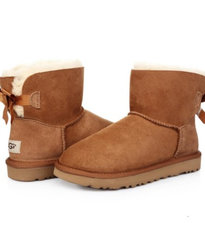 UGG MINI BAILEY BOW II BOOT Chestnut-92