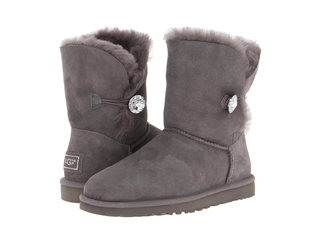 UGG Bailey Button Bling Grey-16