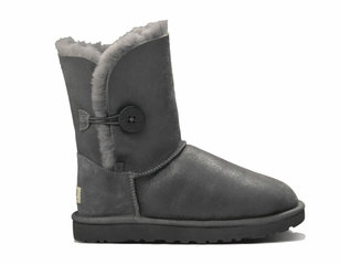UGG Bailey Button Leather Metalic Grey-17