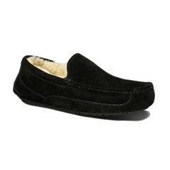 Мужские UGG Ascot Slipper Black-103