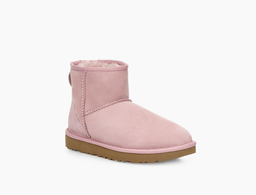 UGG CLASSIC MINI BOOT PINK CRYSTAL-117