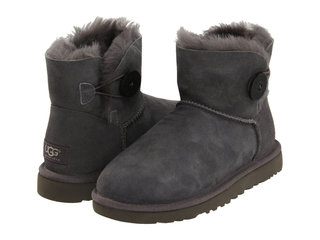 UGG MINI BAILEY BUTTON II BOOT Grey-84