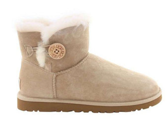 UGG MINI BAILEY BUTTON II BOOT Sand-9